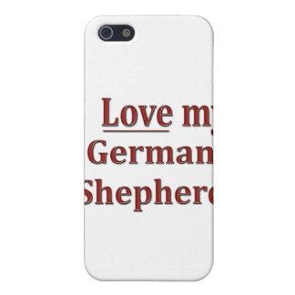 I Liebe mein Schäferhund Schutzhülle Fürs iPhone 5