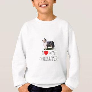 I Liebe mein Sheltie Sweatshirt