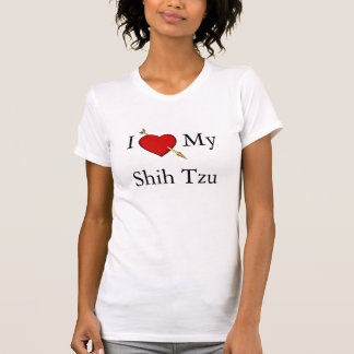 I Liebe mein Shih Tzu T-Shirt