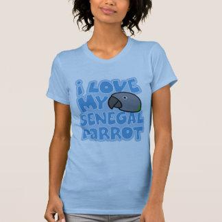 I Liebe mein Shirt Senegal-Damen-Twofer