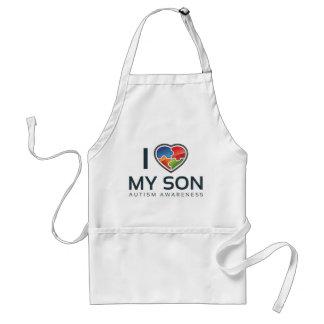 I Liebe mein Sohn Schürze
