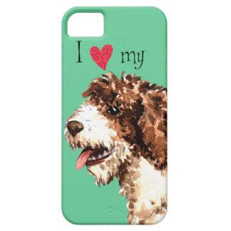 I Liebe mein spanischer Wasser-Hund iPhone 5 Cover