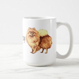 I Liebe mein Spitz Kaffeetasse