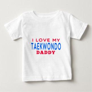 I Liebe mein Taekwondo-Vati Baby T-shirt