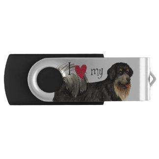 I Liebe mein tibetanischer Mastiff USB Stick