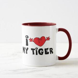 I Liebe mein Tiger Tasse