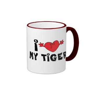 I Liebe mein Tiger Tee Tasse