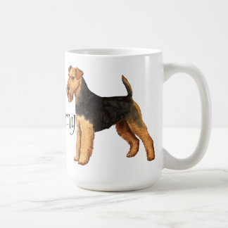 I Liebe mein Waliser-Terrier Kaffeetasse