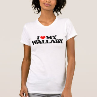 I LIEBE MEIN WALLABY T-Shirt