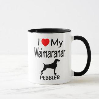 I Liebe mein Weimaraner Hund Tasse