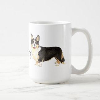 I Liebe mein Wolljacken-WaliserCorgi Kaffeetasse