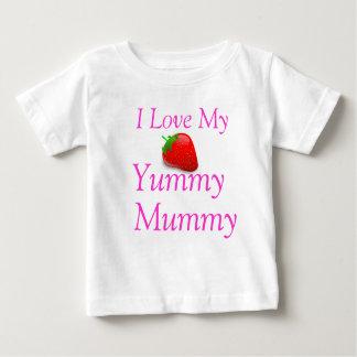 I Liebe mein Yummy Mama-Baby-T - Shirt