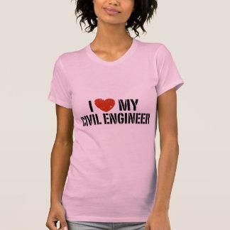I Liebe mein ziviler Ingenieur T-Shirt