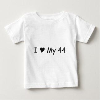 I Liebe meine 44 i-Liebe meine Geschenke durch Baby T-shirt