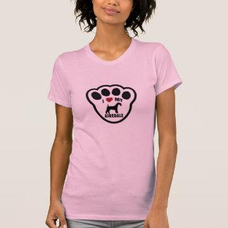 I Liebe meine Airdale T-Shirt