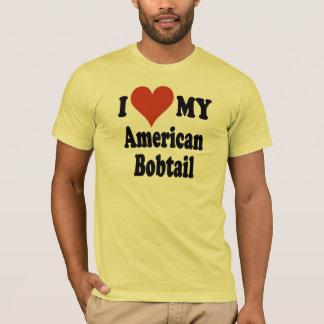 I Liebe meine amerikanischen Bobtail T-Shirt