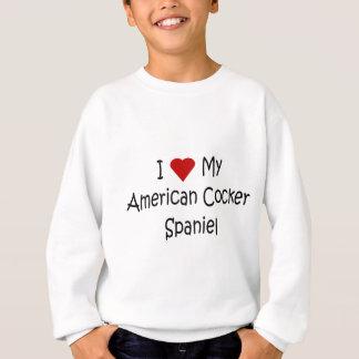 I Liebe meine amerikanischen Sweatshirt