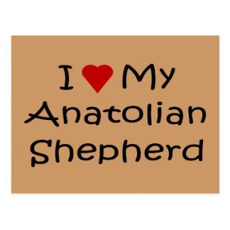 I Liebe meine anatolischen Postkarte