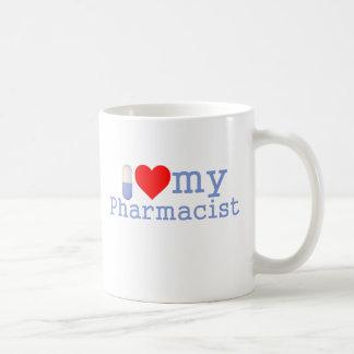 I Liebe meine Apotheker-Kaffee-Tasse