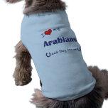 I Liebe meine Araber (mehrfache Pferde) Haustier Tshirts