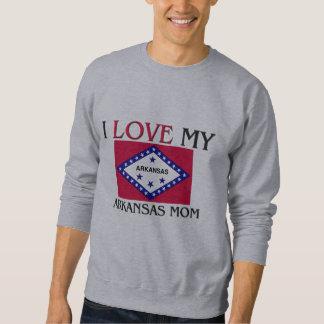 I Liebe meine Arkansas-Mamma Sweatshirt