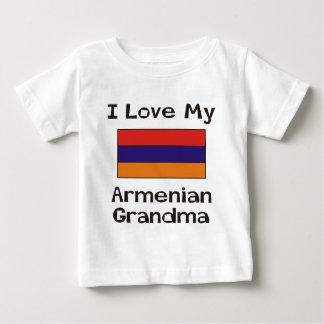 I Liebe meine armenische Großmutter Baby T-shirt