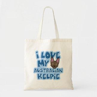 I Liebe meine australische Kelpie-Tasche
