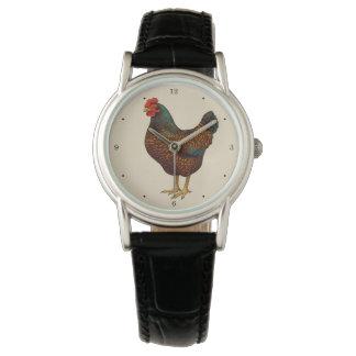 I Liebe meine Barnevelder Hühner Uhr