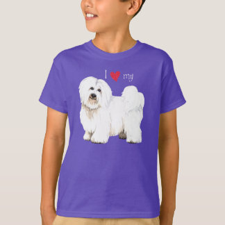 I Liebe meine Baumwolle de Tulear T-Shirt