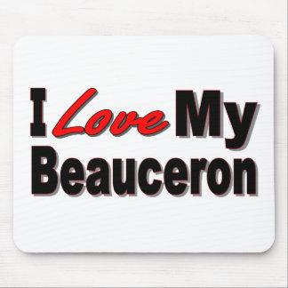 I Liebe meine Beauceron Waren Mousepad