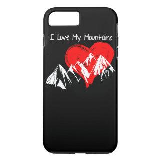 I Liebe meine Berge! iPhone 8 Plus/7 Plus Hülle