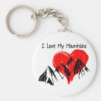 I Liebe meine Berge! Schlüsselanhänger