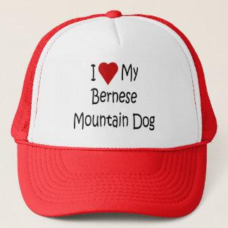 I Liebe meine Bernese Truckerkappe
