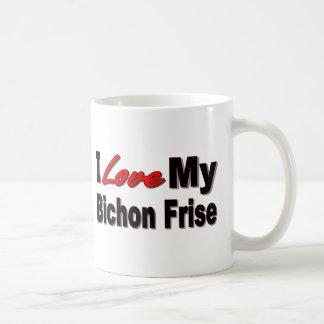 I Liebe meine Bichon Frise Hundewaren Kaffeetasse