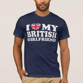 I Liebe meine britische Freundin T-Shirt
