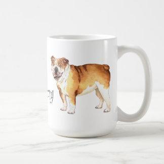 I Liebe meine Bulldogge Kaffeetasse