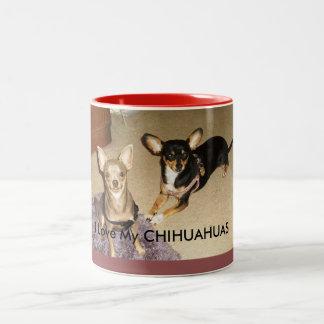 I Liebe meine Chihuahua-Kaffee Tasse