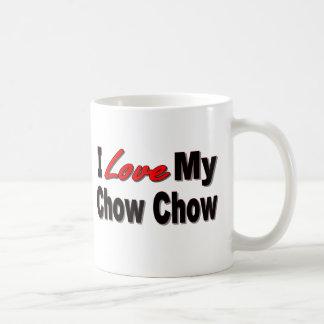 I Liebe meine Chow-Chow Chow-Chow Hundegeschenke Kaffeetasse