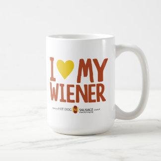 I Liebe meine Dackel Kaffeetasse