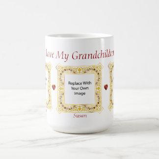 I Liebe meine Enkelkinder! Miniatur-Bild-Tasse #3 Kaffeetasse