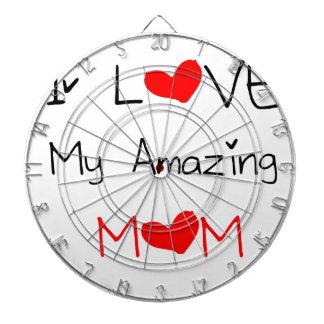 I Liebe meine fantastische Mamma Dartscheibe