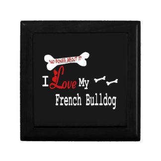 I Liebe meine französische Bulldogge Erinnerungskiste