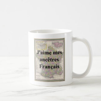 I Liebe meine französische Vorfahrn-Tasse Kaffeetasse