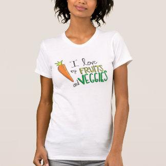 I Liebe meine Früchte u. Veggies T-Shirt