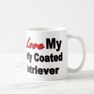 I Liebe meine gelockte überzogene Retriever-Tasse Tasse