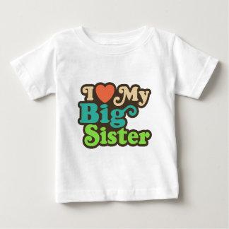 I Liebe meine große Schwester Baby T-shirt