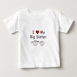 I Liebe meine große Schwester! Baby T-shirt