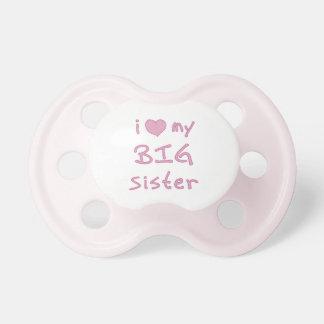I Liebe meine große Schwester Schnuller