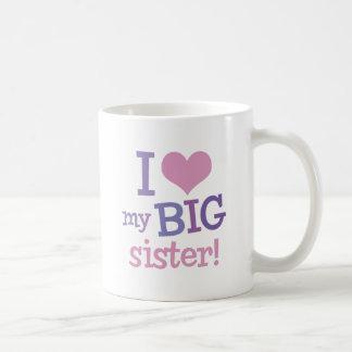 I Liebe meine große Schwester Teetassen
