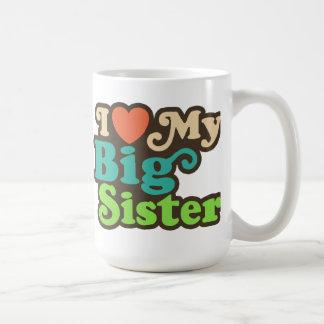 I Liebe meine große Schwester Tasse